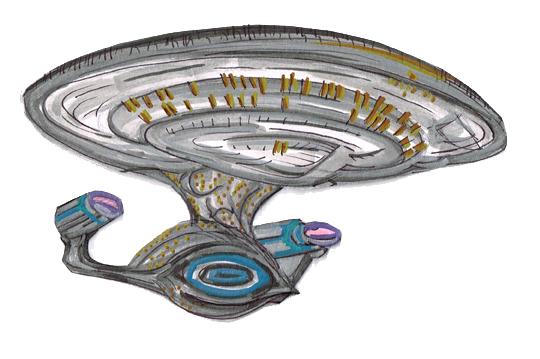 Enterprise USS D front below 11282015