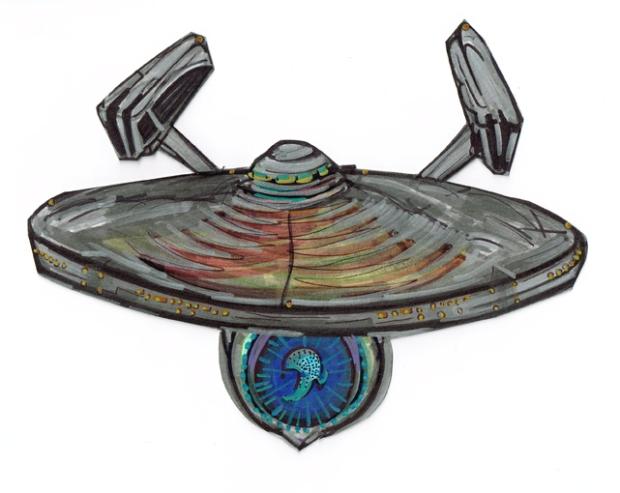 Enterprise USS Refit frnt top11282015