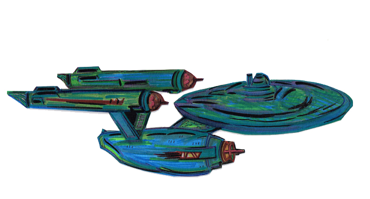 Enterprise USS TOS Full Fig side Rght12052015
