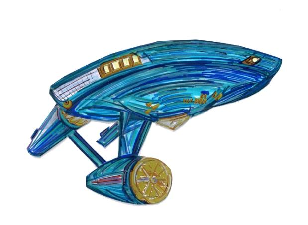 Enterprise USS TOS sd undr frnt 211272015