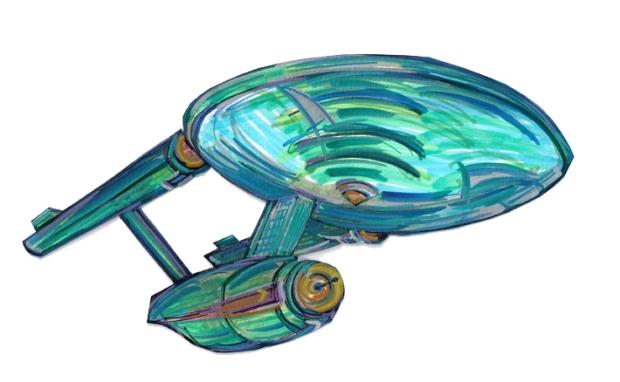 Enterprise USS TOS side undr R 411272015
