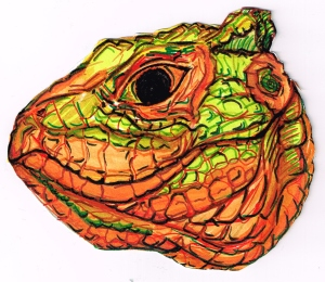 Lizard Head Caiman