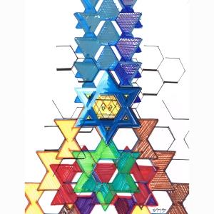 Star Pyramid Tall