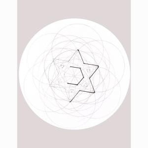 Star Stencil Circle 10