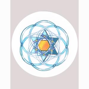 Star Stencil Circle 7