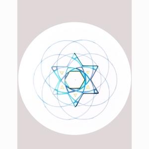 Star Stencil Circle 8