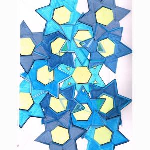 Stars Spiral Overlapp