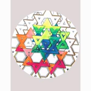 The Last Jewish Star Stencil
