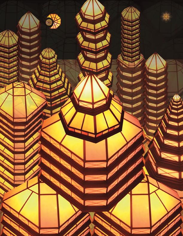 12.) Triangle City