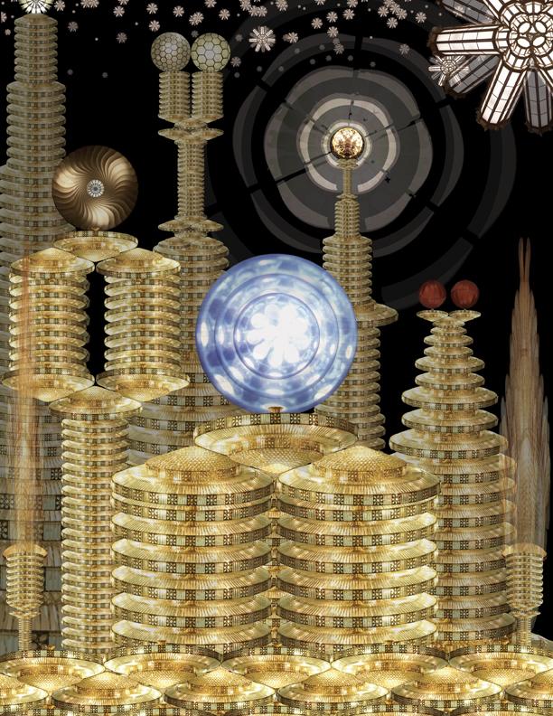2.) City of Glitter
