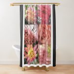 Shower Curtain K Flowers 2